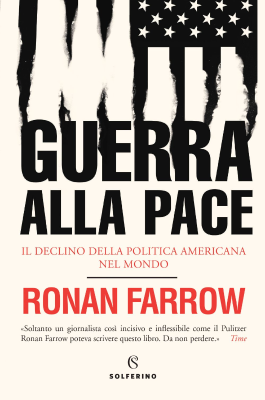 Guerra alla pace - New entry