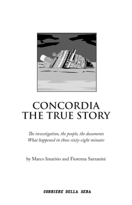 Concordia. The true story - INSTANT BOOK