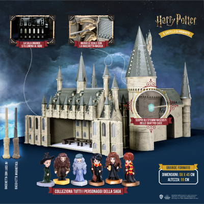 Collana Completa - HARRY POTTER BUILD UP