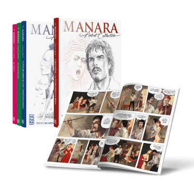 Collana 1 - 30 - MANARA ARTIST COLLECTION