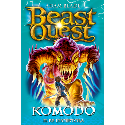 Komodo - Il Re Lucertola - BEAST QUEST
