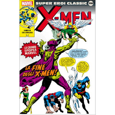 110. X-MEN 10 - SUPER EROI CLASSIC