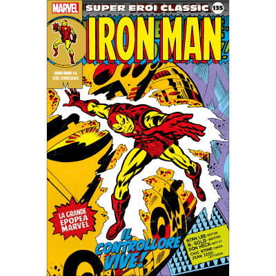 135. IRON MAN 14 - SUPER EROI CLASSIC