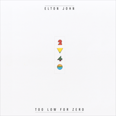 Too Low for Zero - ELTON JOHN COLLECTION