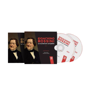 Collana Completa - GIOACCHINO ROSSINI - LE OUVERTURE COMPLETE